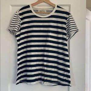 Elizabeth and james striped tee